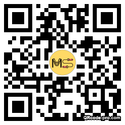 QR code with logo 21IN0