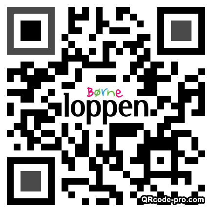 QR code with logo 21M00