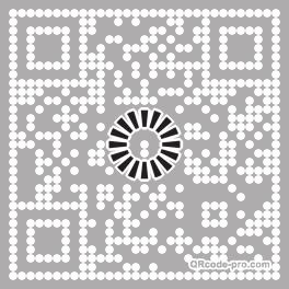 QR code with logo 21Mz0