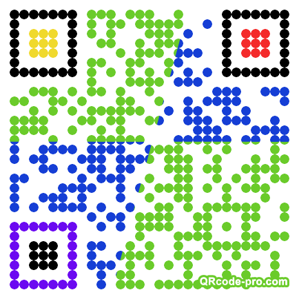 QR code with logo 21P70