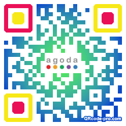 QR code with logo 21P90