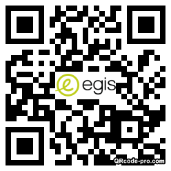 QR code with logo 21Xe0