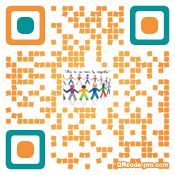 QR code with logo 21ca0