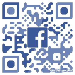 QR code with logo 21eV0