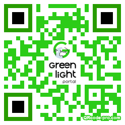 QR code with logo 21ex0