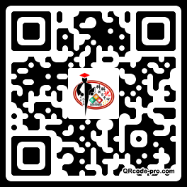 QR code with logo 21k40