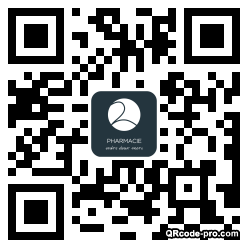 QR code with logo 21nk0