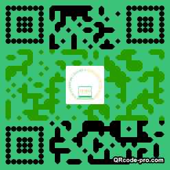 QR code with logo 22080