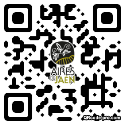 QR code with logo 22A10