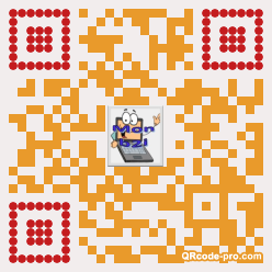 QR code with logo 22BD0