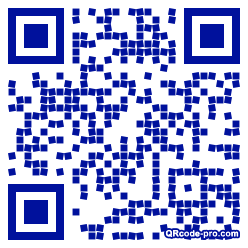 QR code with logo 22Bt0