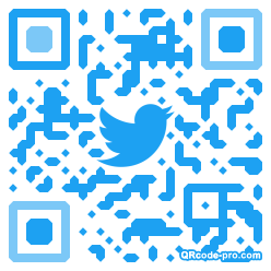 QR code with logo 22Dc0