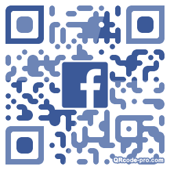 QR code with logo 22Fe0