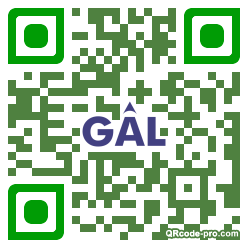 QR code with logo 22Gl0