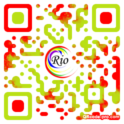 QR code with logo 22Lm0