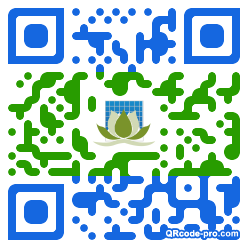 QR code with logo 22ME0