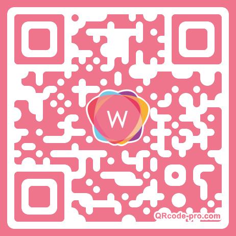 QR code with logo 22N80