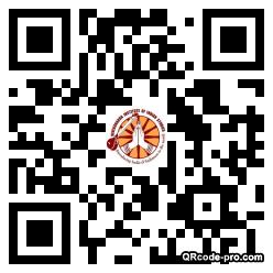 QR code with logo 22NY0