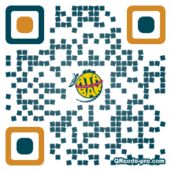 QR code with logo 22S60