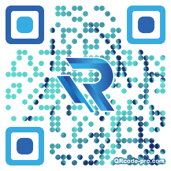 QR code with logo 22Tp0
