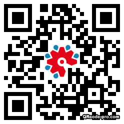 QR code with logo 22Vi0