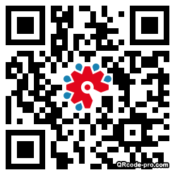 QR code with logo 22Vl0