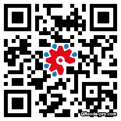 QR code with logo 22Vq0