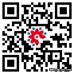 QR code with logo 22Vw0