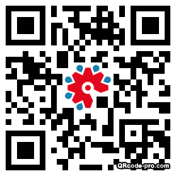 QR code with logo 22Vy0