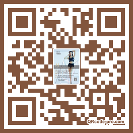 QR code with logo 22X20