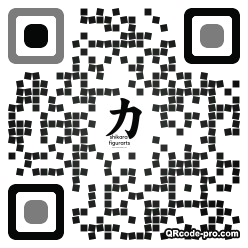 QR code with logo 22a60