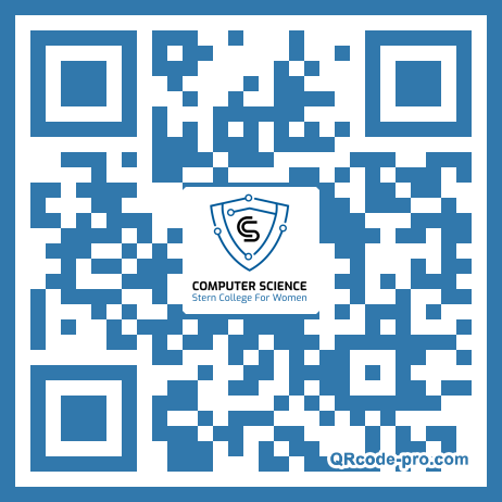 QR code with logo 22a70