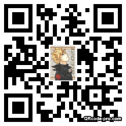 QR code with logo 22bj0