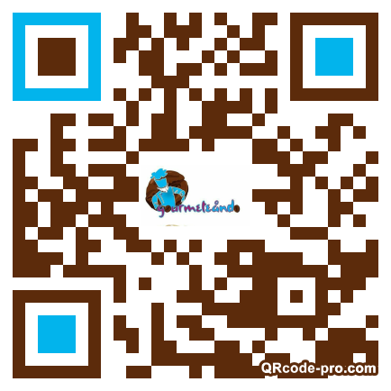 QR code with logo 22k30