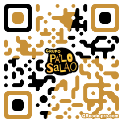 QR code with logo 22mN0