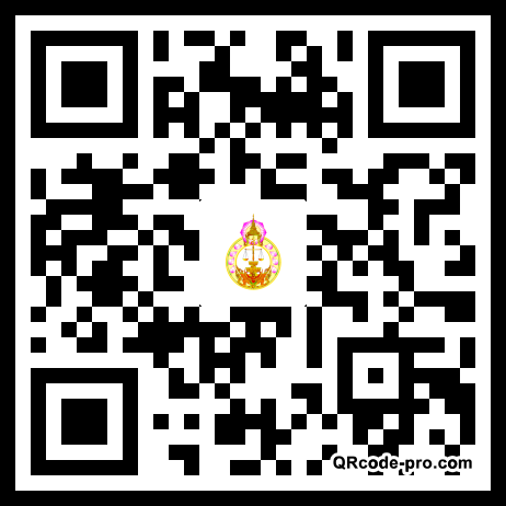 QR code with logo 22pF0