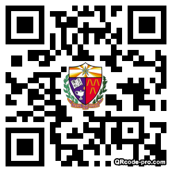 QR code with logo 22tV0