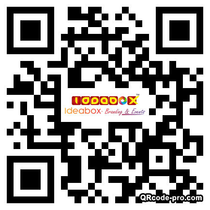QR code with logo 22uf0