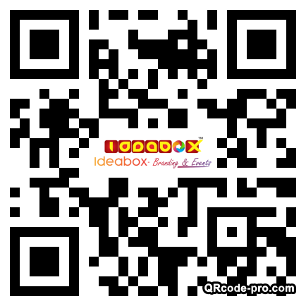 QR code with logo 22uk0