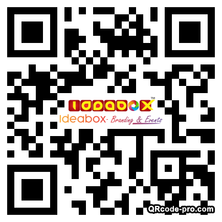 QR code with logo 22up0