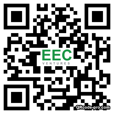 QR code with logo 22vE0
