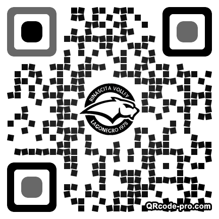 QR code with logo 22vH0