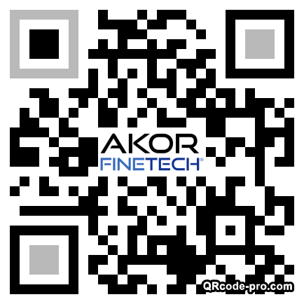 QR code with logo 22vR0