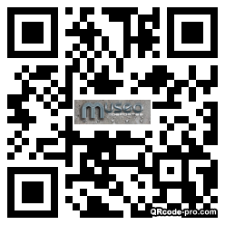 QR code with logo 23020
