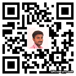 QR code with logo 23DH0
