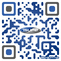QR code with logo 23Ep0