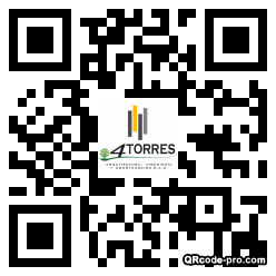 QR code with logo 23Gr0