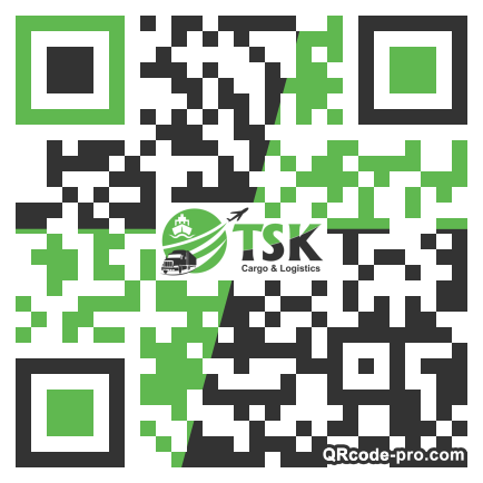 QR code with logo 23KB0