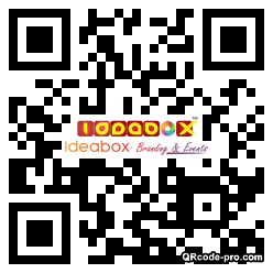 QR code with logo 23Ms0