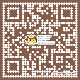 QR code with logo 23dO0